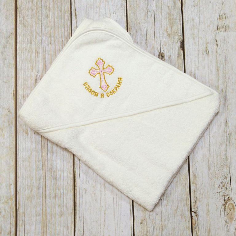 Вышивка на крестильном полотенце своими руками 13
