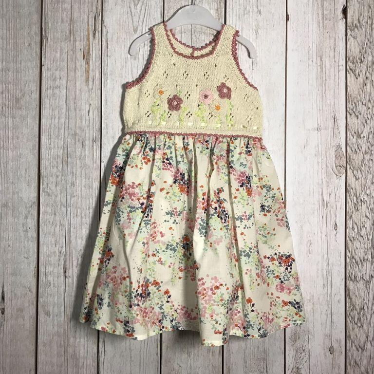 Платье для девочки Полевые цветы 3-4 года 8005 - Детские ...